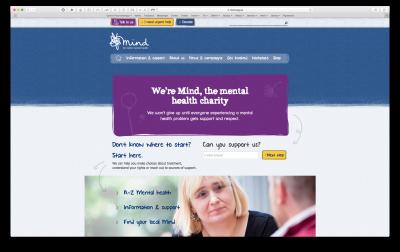 Link to Mind Website