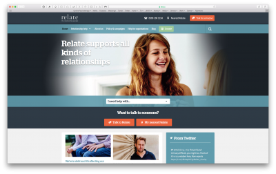 Link to Relate website
